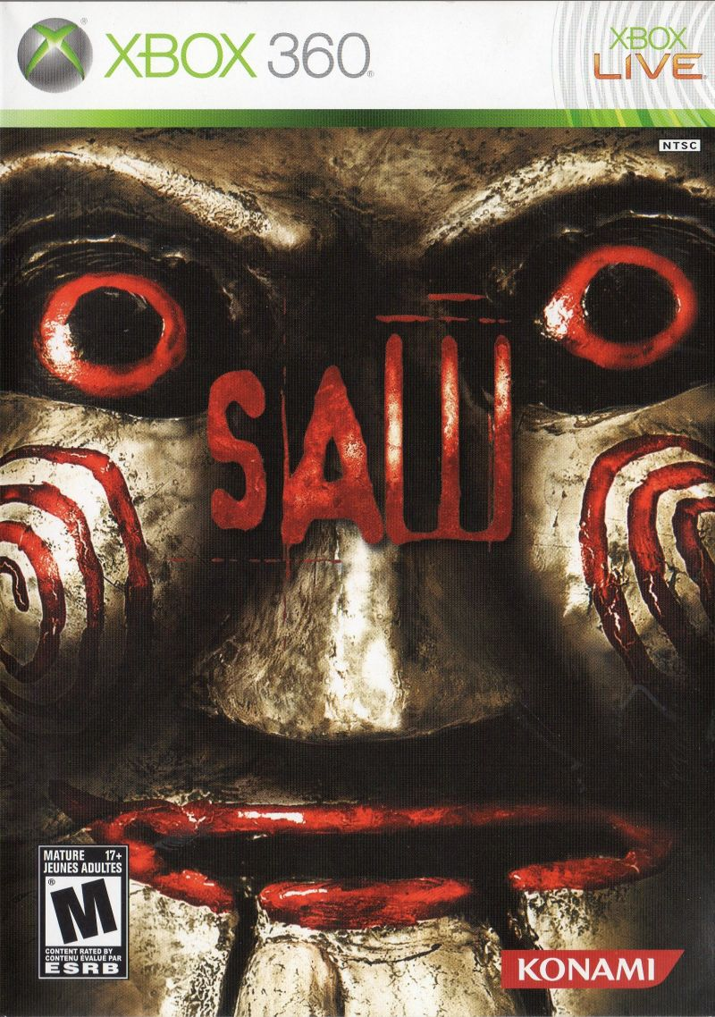 medium resolution of saw 2009 playstation 3 box cover art mobygamessaw xbox 360 front cover