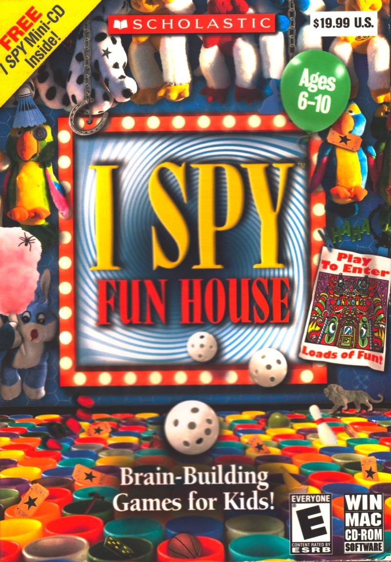 I Spy Fun House For Macintosh 2008 Mobygames