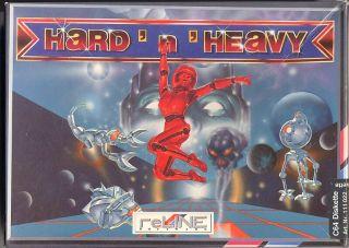 """Das finale Cover für """"Hard 'n' Heavy"""""""