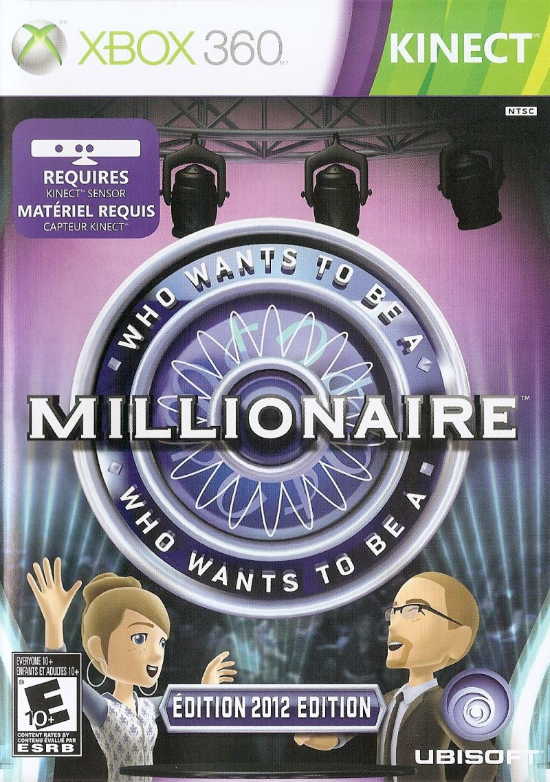 Who Wants To Be A Millionaire 2012 Edition For Xbox 360