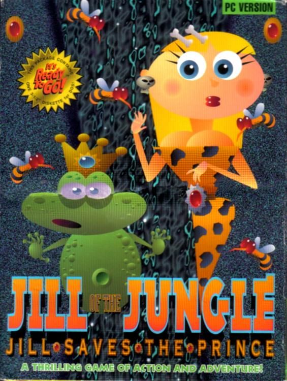Jill of the Jungle: Jill Saves the Prince for DOS (1992) - MobyGames