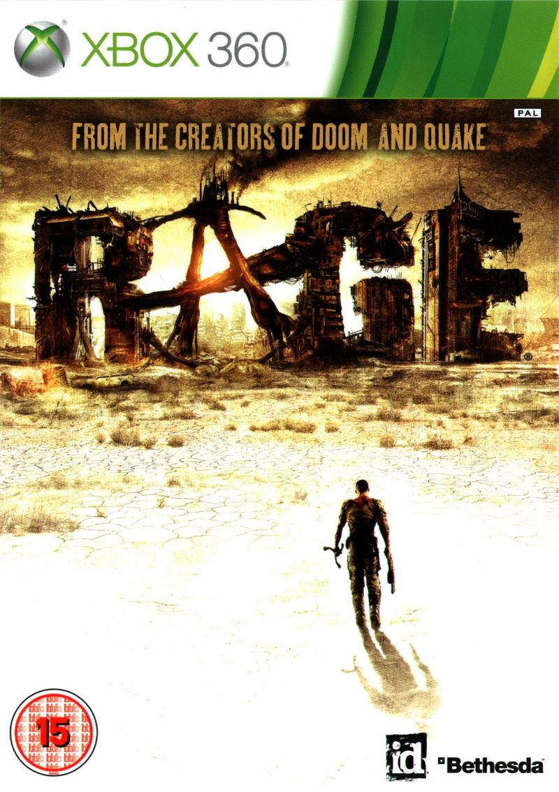 Rage for Xbox 360 2011  MobyGames