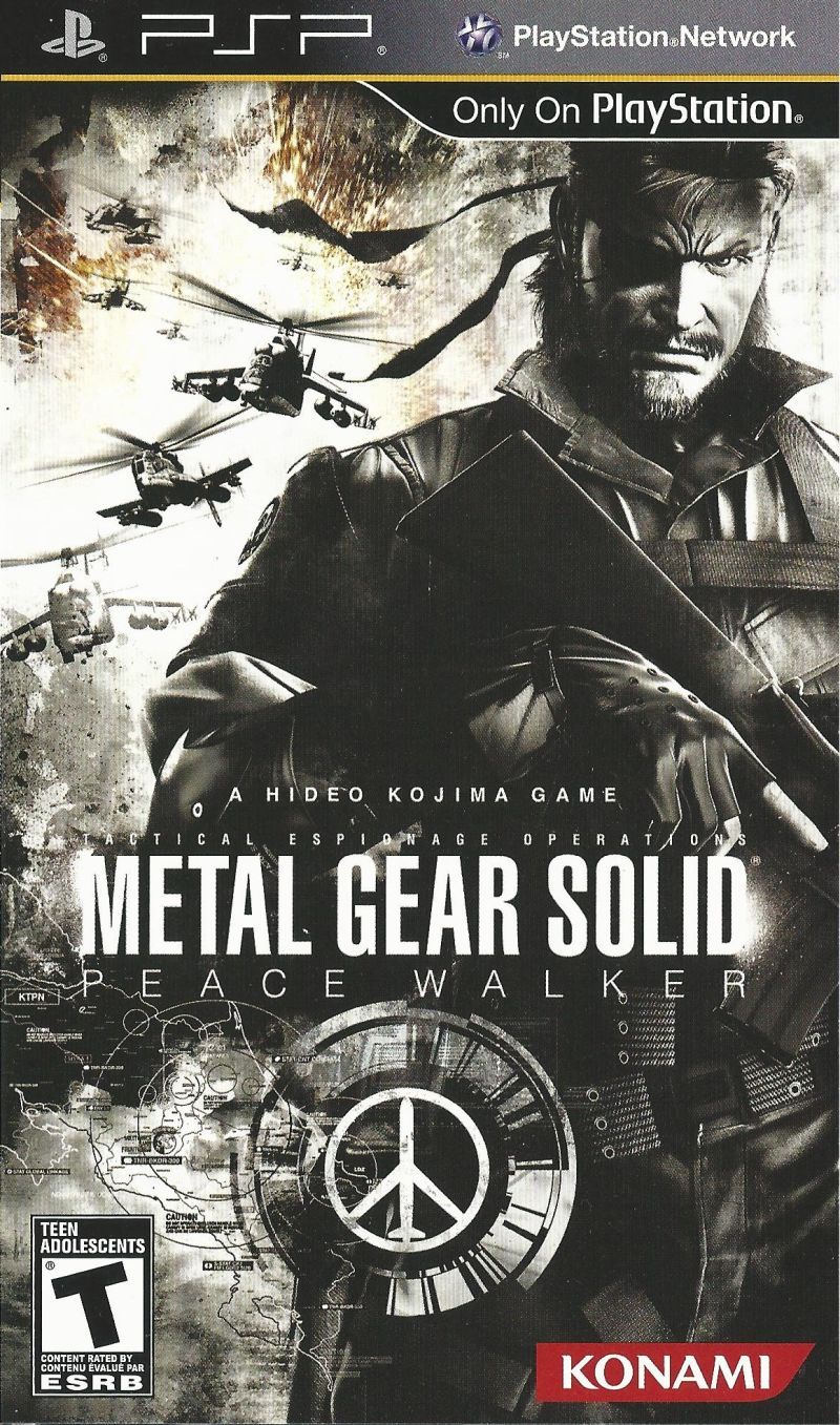 Metal Gear Solid Peace Walker For PSP 2010 MobyGames