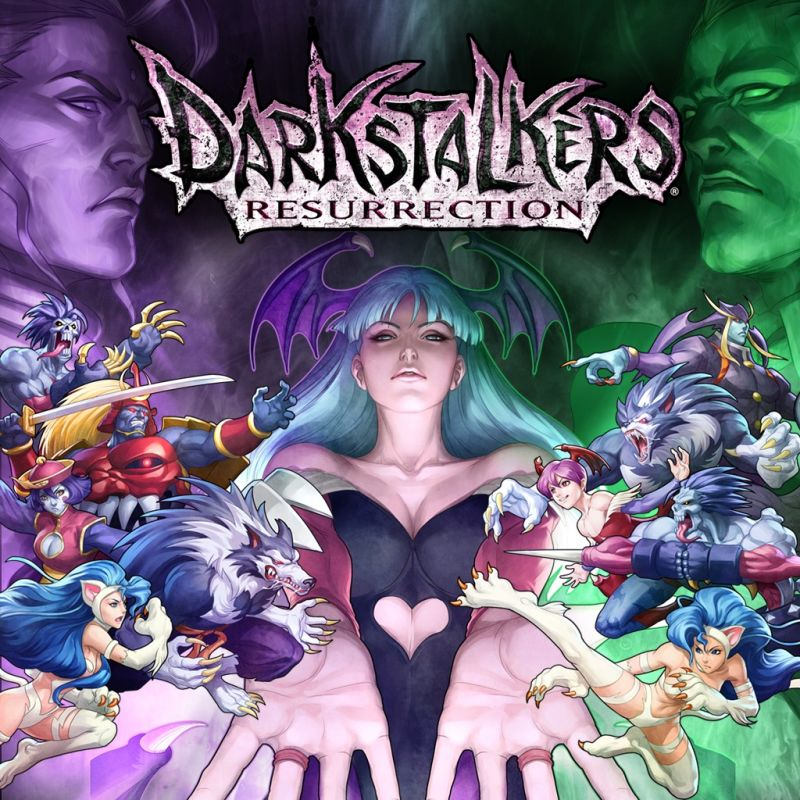 Blazblue Wallpaper Girls Darkstalkers Resurrection For Playstation 3 2013