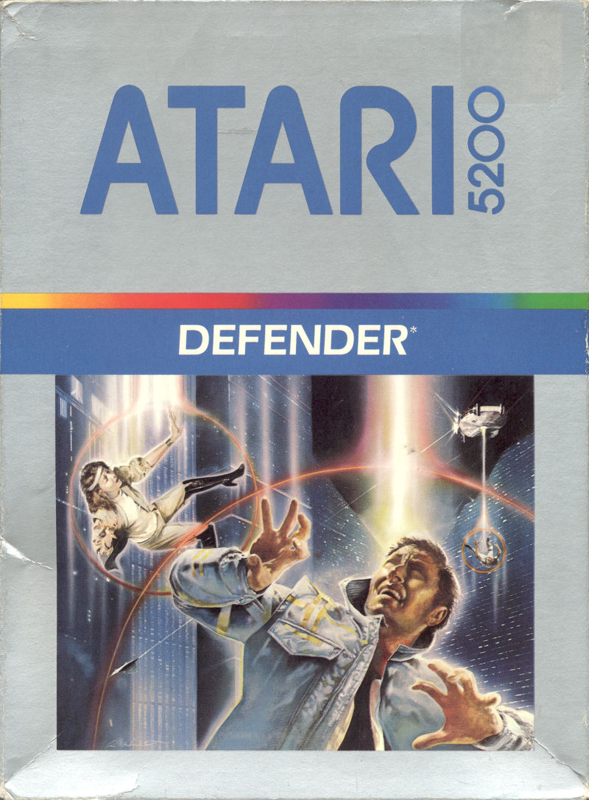 Defender For Atari 5200 1982 MobyGames