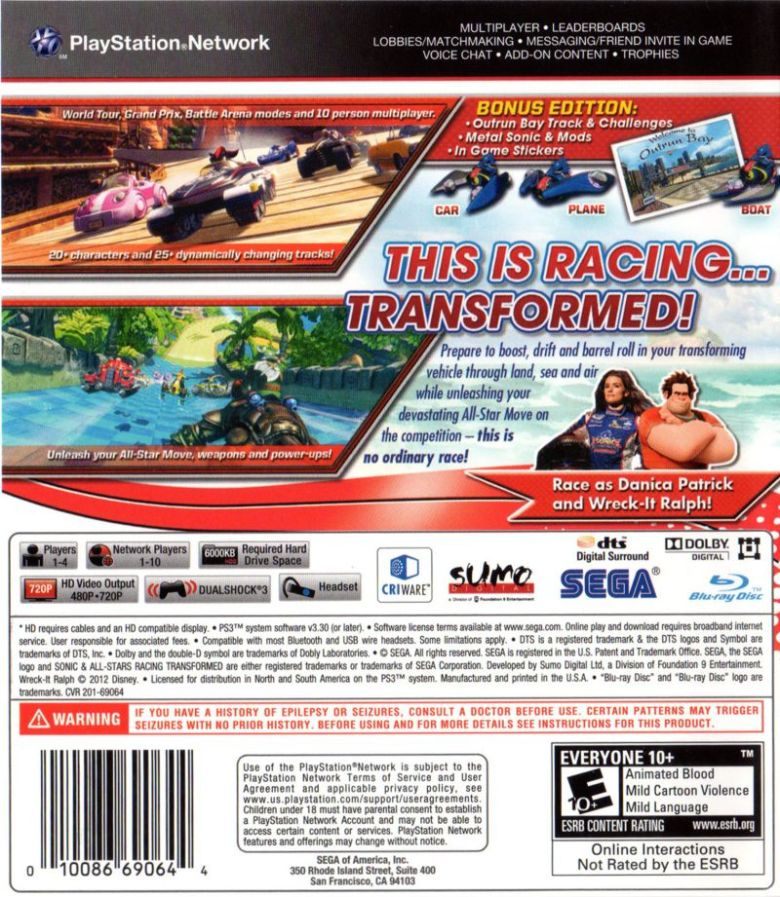 Racing Games For Ps3 Covers | www.imgkid.com - The Image Kid Has It!