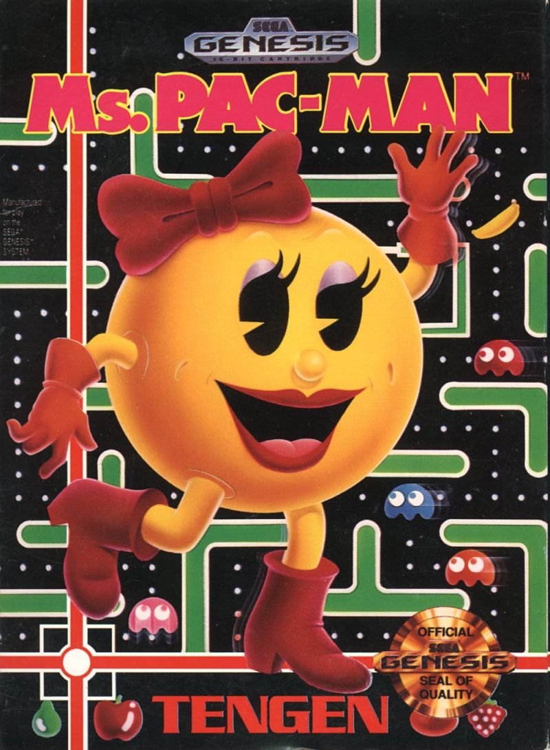 Ms PacMan for Genesis 1991  MobyGames