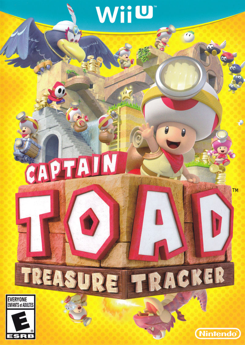 Image result for captain toad treasure tracker box art
