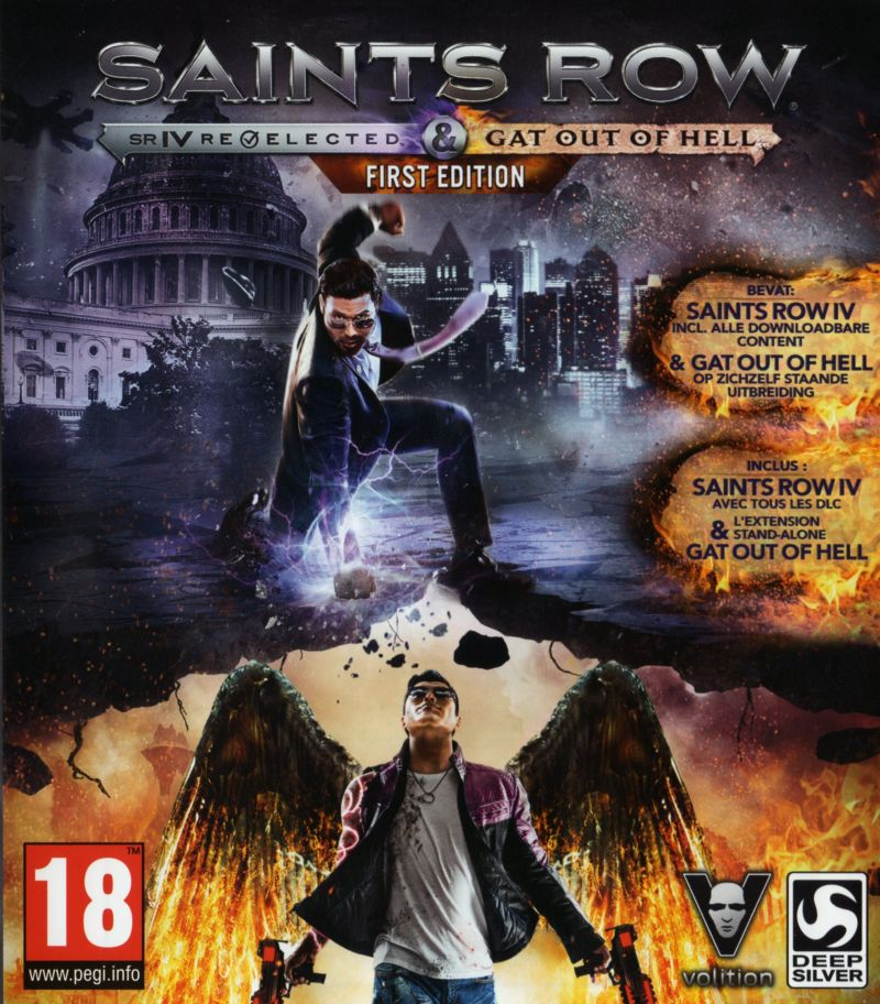 Saints Row IV Re Elected Amp Gat Out Of Hell First Edition For PlayStation 4 2015 MobyGames