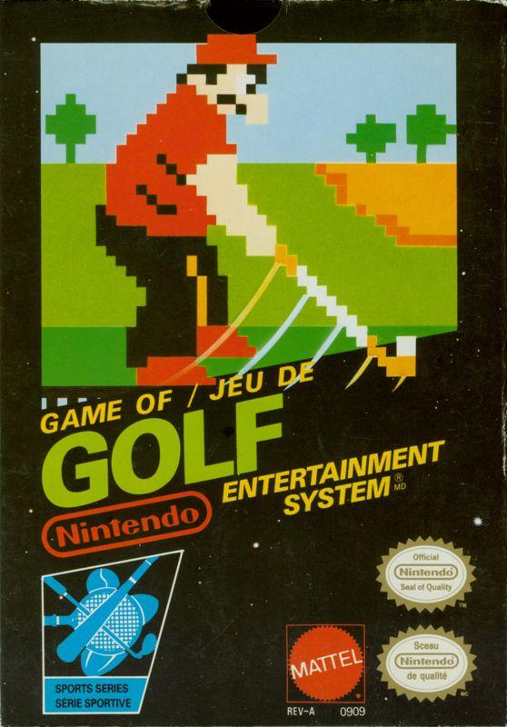 Golf 1986 Arcade box cover art  MobyGames