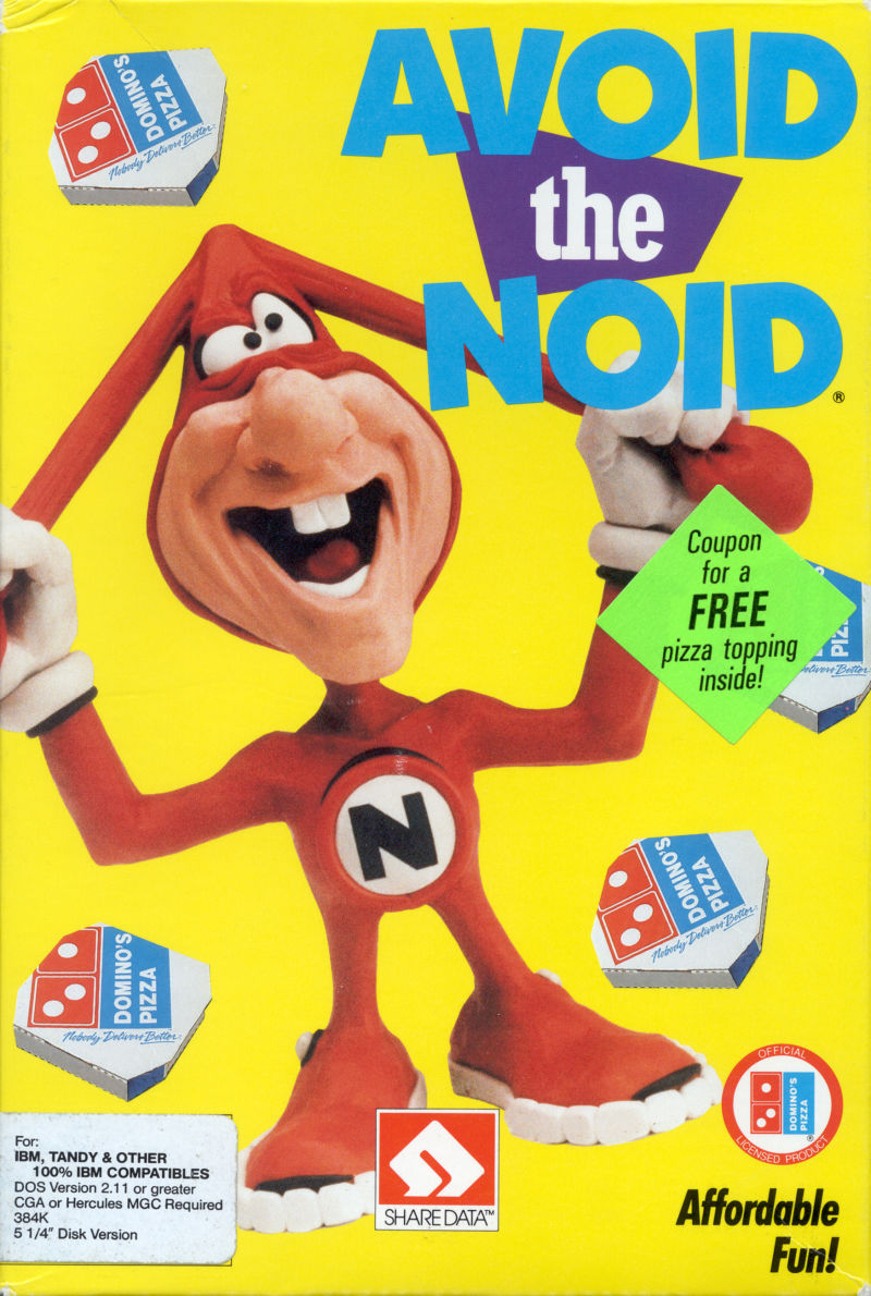 Avoid the Noid for Commodore 64 1989  MobyGames