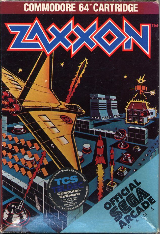 Zaxxon For Commodore 64 1984 MobyGames