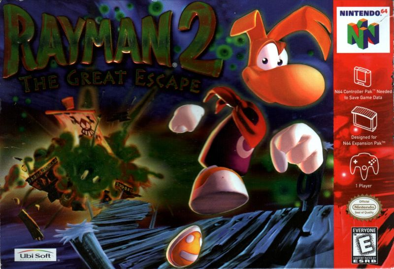 Rayman 2 The Great Escape for Nintendo 64 1999  MobyGames