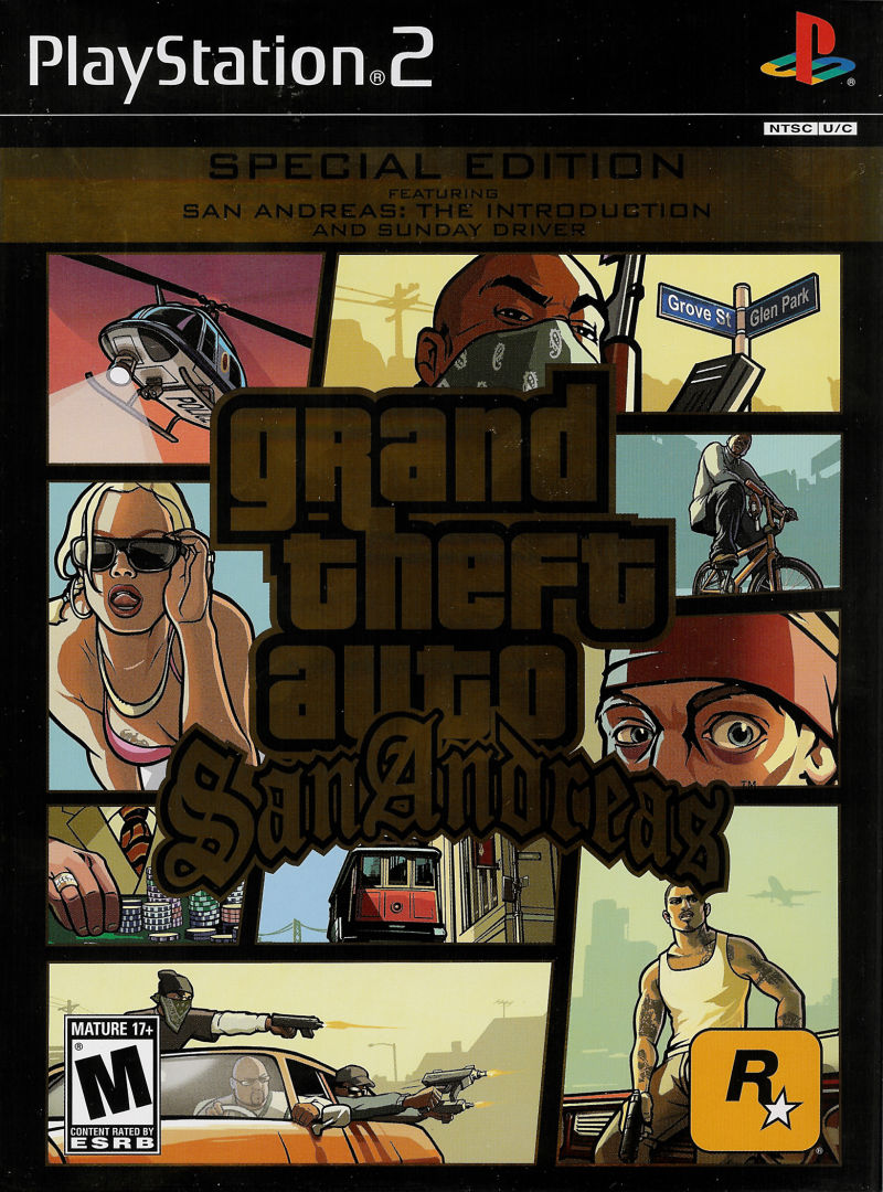 Grand Theft Auto San Andreas Special Edition For