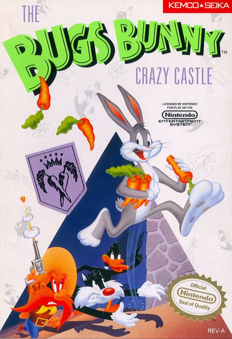 The Bugs Bunny Crazy Castle 1989 Game Boy credits
