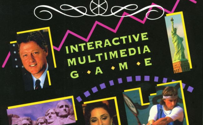 Trivial Pursuit Interactive Multimedia Game For Windows 3