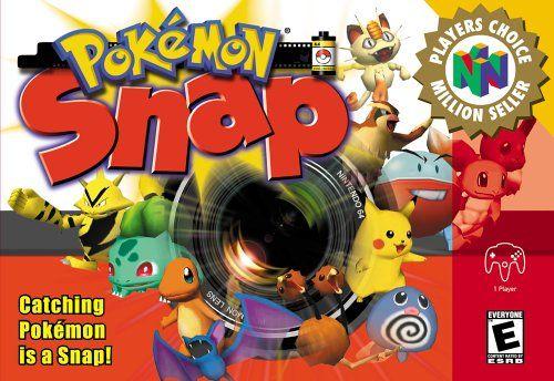 pokémon snap 1999 nintendo