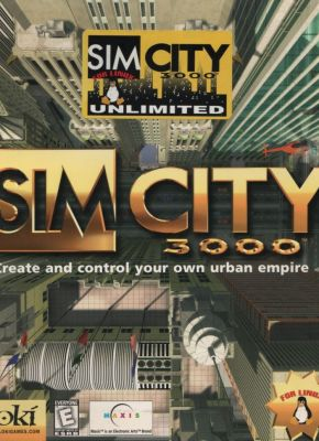 SimCity 3000 Unlimited Linux Front Cover