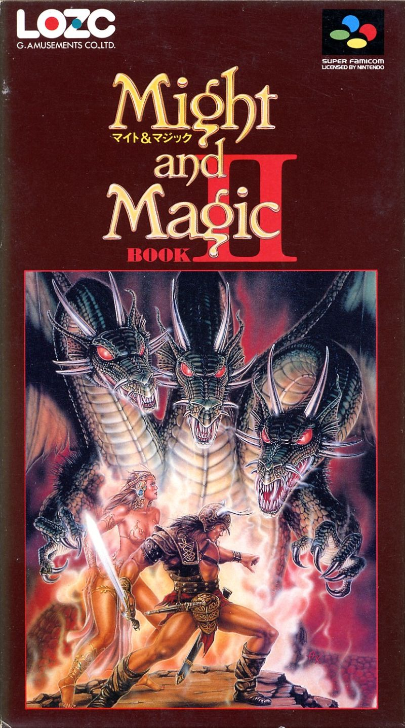 Might and Magic II Gates to Another World for SNES 1993
