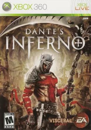 Dante's Inferno Xbox 360 Front Cover