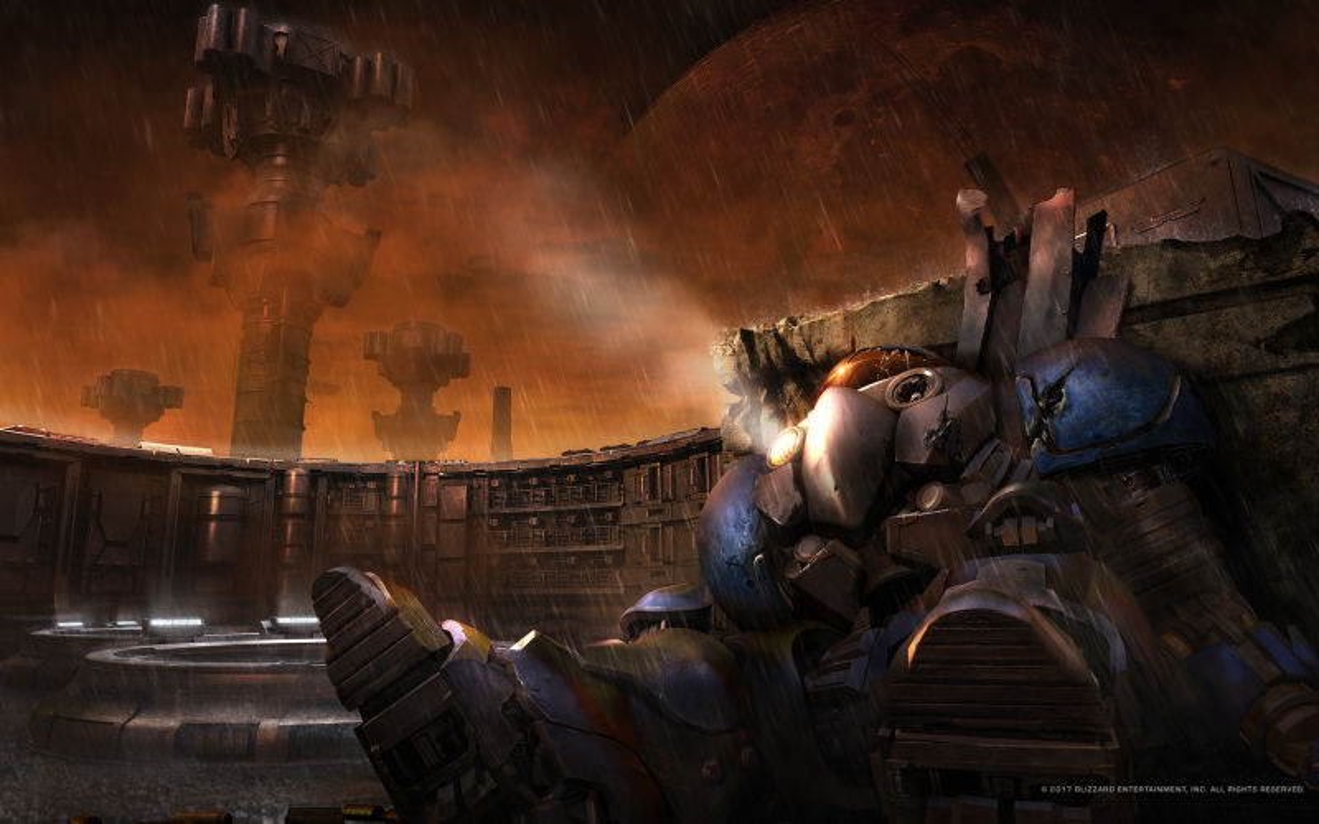 StarCraft Remastered 2017 promotional art  MobyGames