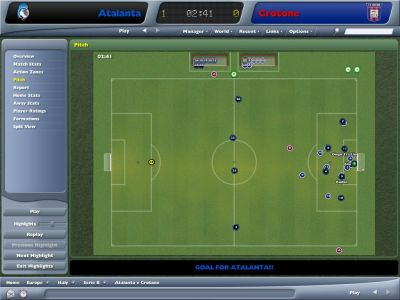 Worldwide Soccer Manager 2006 Windows And it's a goal!