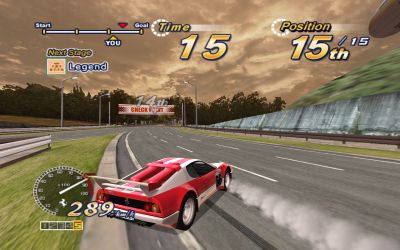 OutRun 2006: Coast 2 Coast Windows Every aspect of the classic Outrun is maintained here: Racing through checkpoints