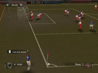 FIFA Soccer 07 Windows Taking a corner.