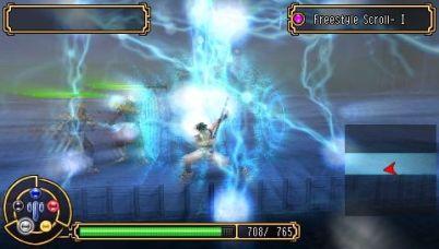 Kingdom of Paradise PSP Using Wood Chi Arts