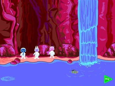 The Backyardigans: Mission to Mars Windows An underground river