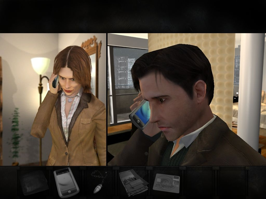 Overclocked: A History of Violence Windows Chapter 1: calling Jack's wife.