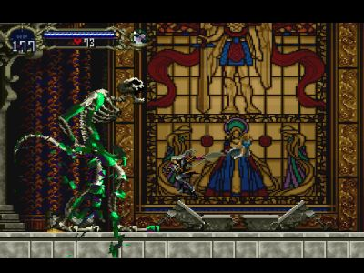 """Castlevania: Symphony of the Night PlayStation """"Die monster! You don't belong in this world!"""""""