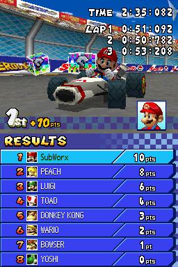 Mario Kart DS Screenshots For Nintendo DS MobyGames