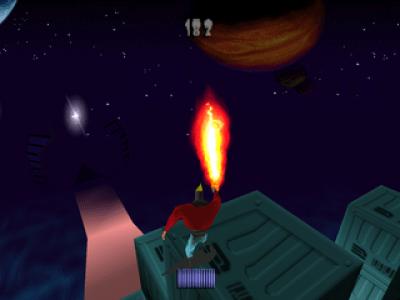 Blasto PlayStation Flamethrower