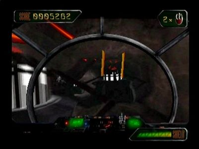 Star Wars: Rebel Assault II - The Hidden Empire PlayStation Part two of the mining tunnels