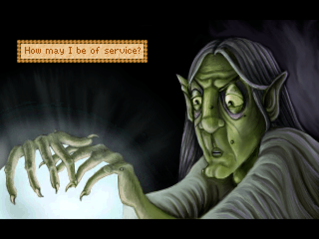 King's Quest II: Romancing the Stones Windows Version 3.0: The witch