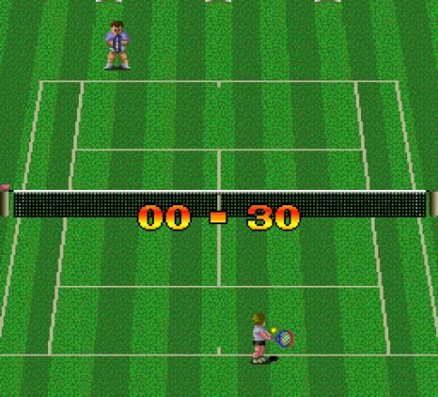 Final Match Tennis TurboGrafx-16 I'm not good.