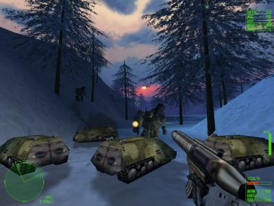 Heavy Gear II Windows Snowfight