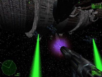 Heavy Gear II Windows Battles in space