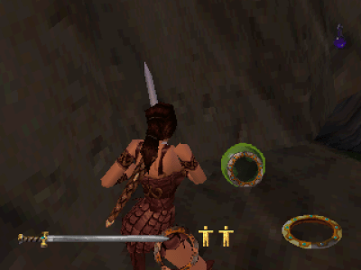 Xena: Warrior Princess PlayStation Super Chakram, which automatically attack all enemies in your sight