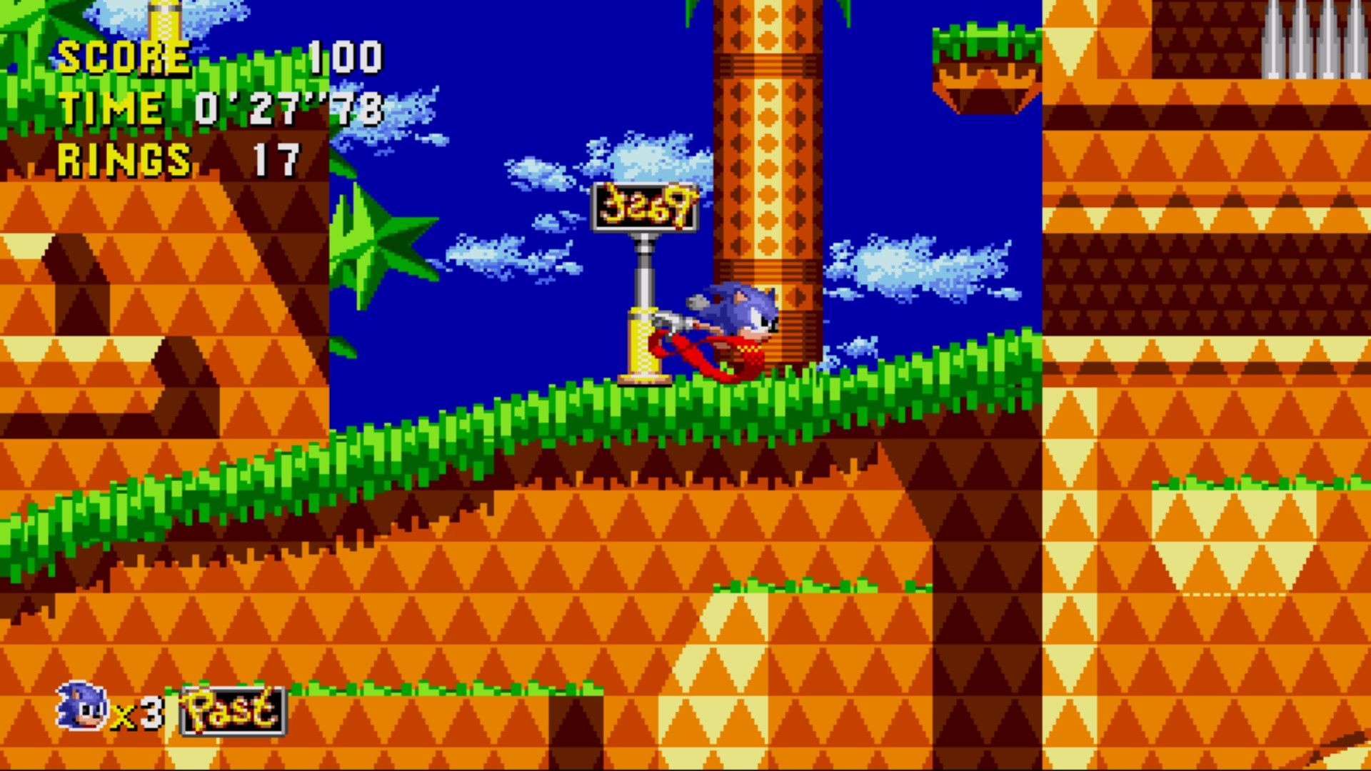 Image result for sonic cd screenshot