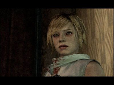 Silent Hill 3 Windows Heather, the dream of every horror-story fan. She even sports blood stains in her jacket.