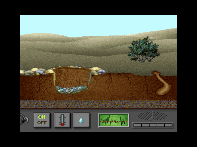 The Adventures of Hyperman Windows 3.x An ants terrarium