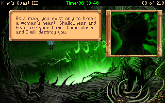 King's Quest III Redux: To Heir is Human Windows The Medusa is not as dangerous as she would seem