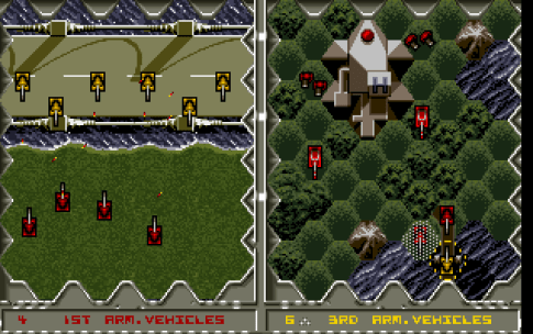 Battle Isle DOS My forces are weak