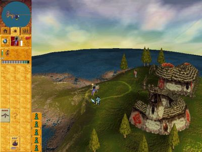 Populous: The Beginning Windows Raid on enemy village