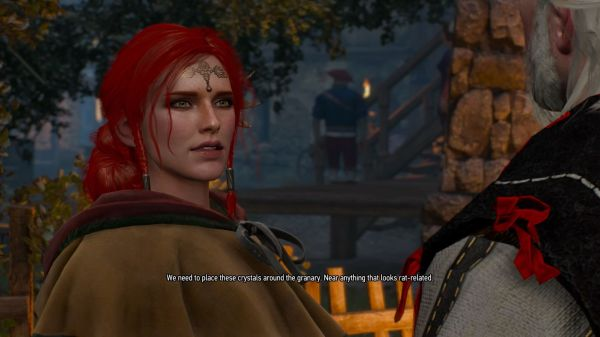 Witcher 3 Triss Look Alternative - Year of Clean Water