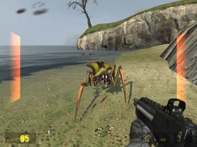 Half-Life 2 Windows Ant lions play a surprising role in the later missions.
