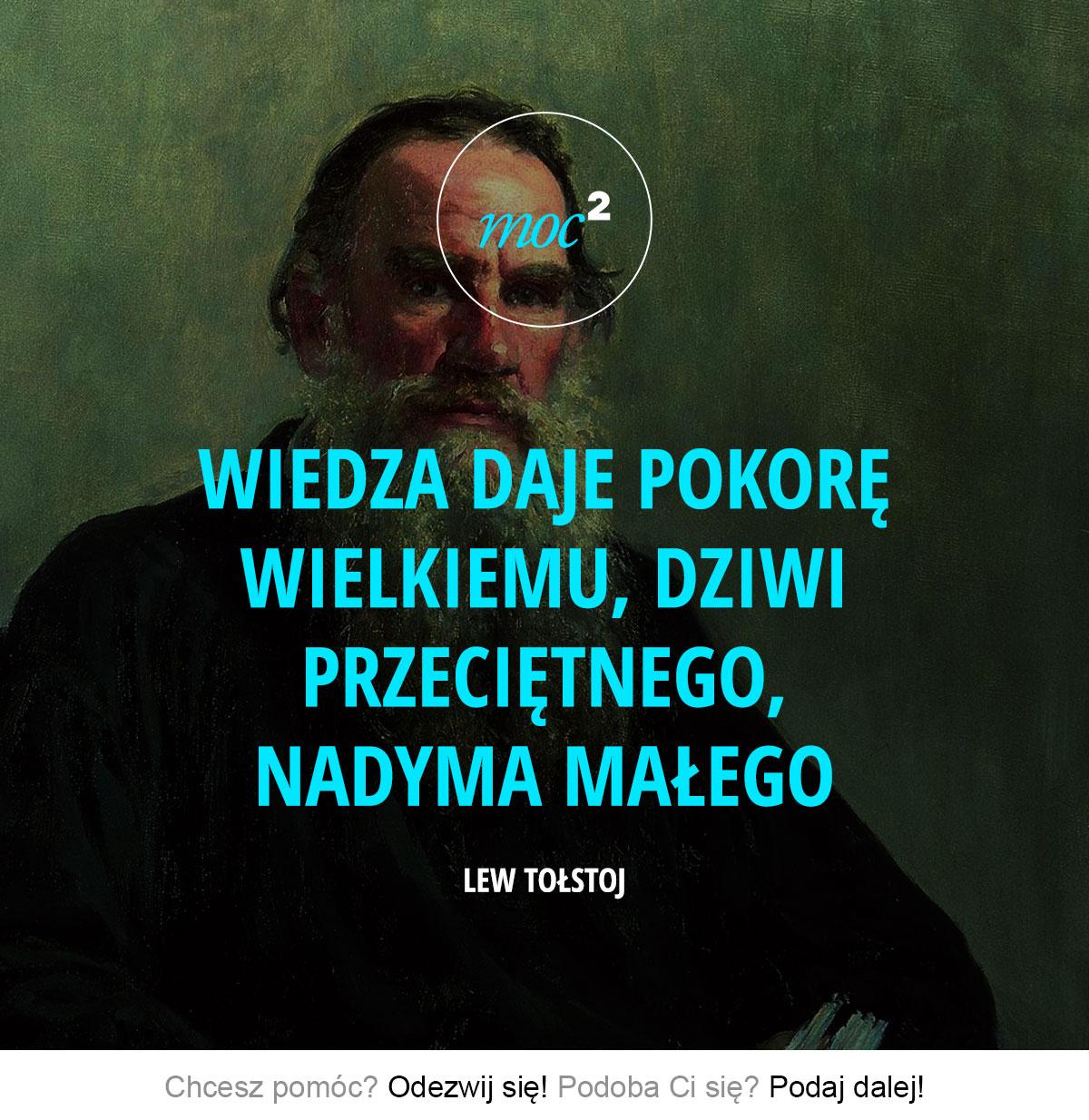 140801-cytaty-motywacja-inspiracja-wiedza-Lew-Tolstoj