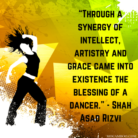 """""""Through a synergy of intellect, artistry and grace came into existence the blessing of a dancer ..."""